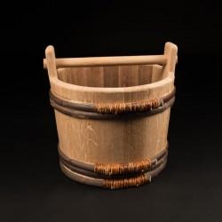 Seau chêne 11 Litres - Le Traditionnel Ergonomique