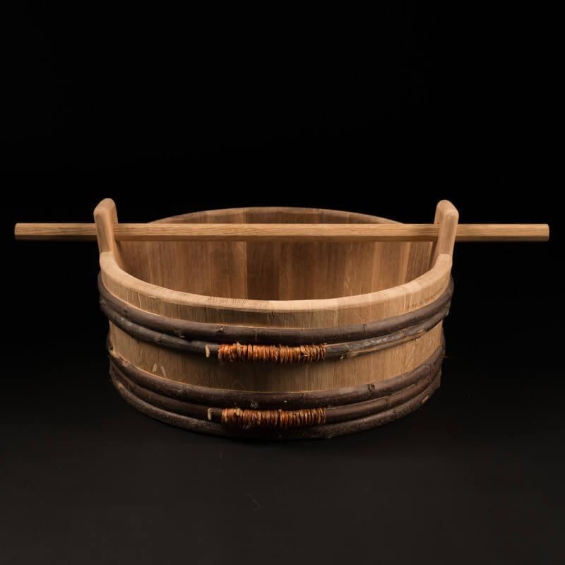Baquet chêne 18 litres – Le Traditionnel Nomade [S]