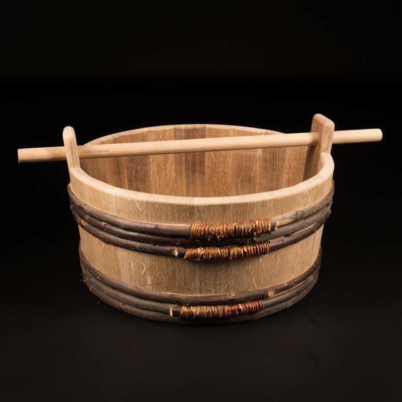 Baquet chêne 25 litres – Le Traditionnel Nomade [M]