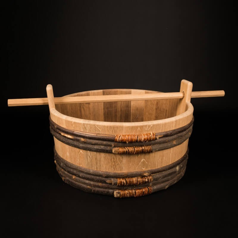 Baquet chêne 40 litres – Le Traditionnel Nomade [L]