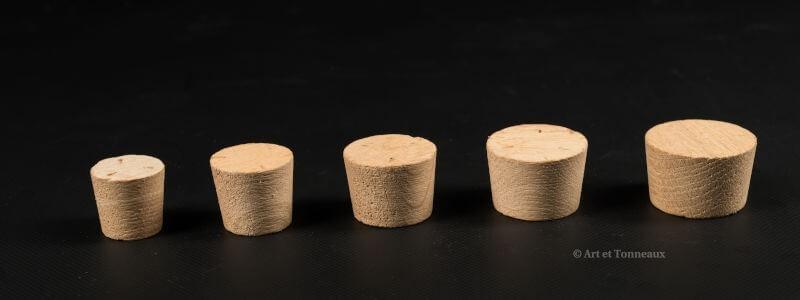 Bondes Bois diamètre 30 à 90 mm | Art et Tonneaux