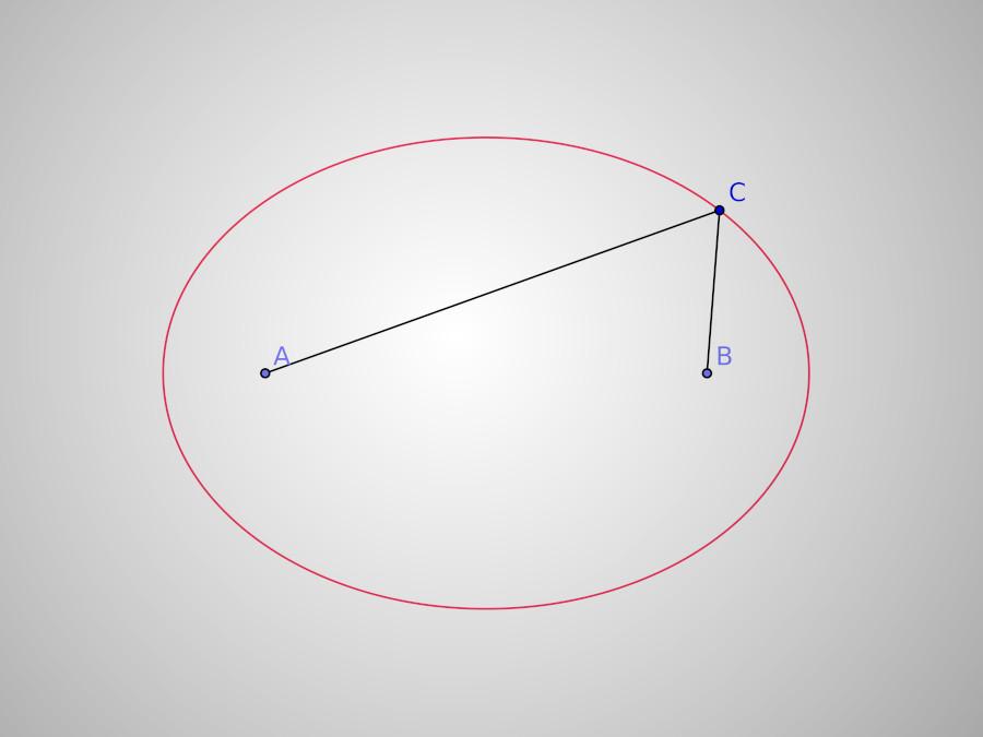 Une ellipse