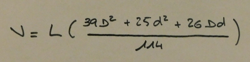 Equation de Hutton