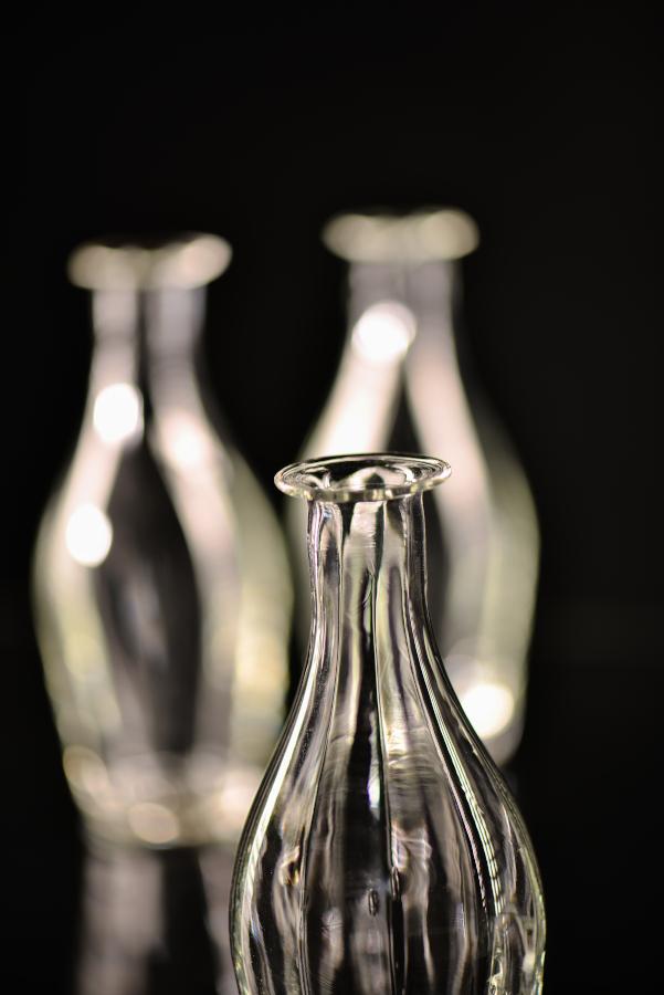 bouteille en verre pour le vinaigre