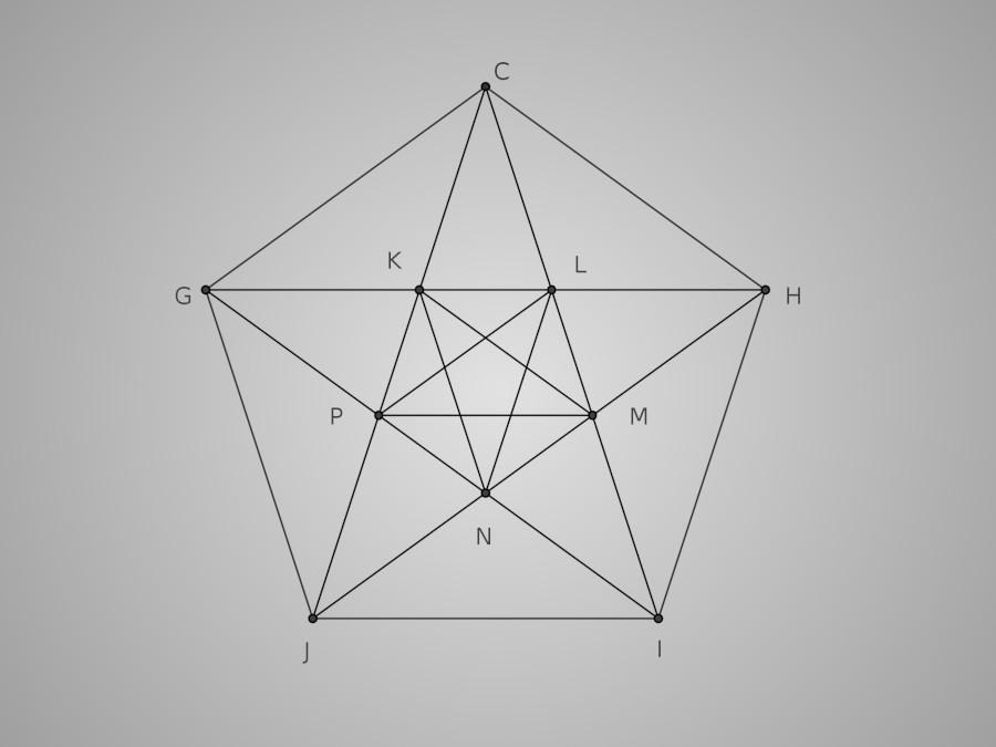 Les diagonales du pentagone