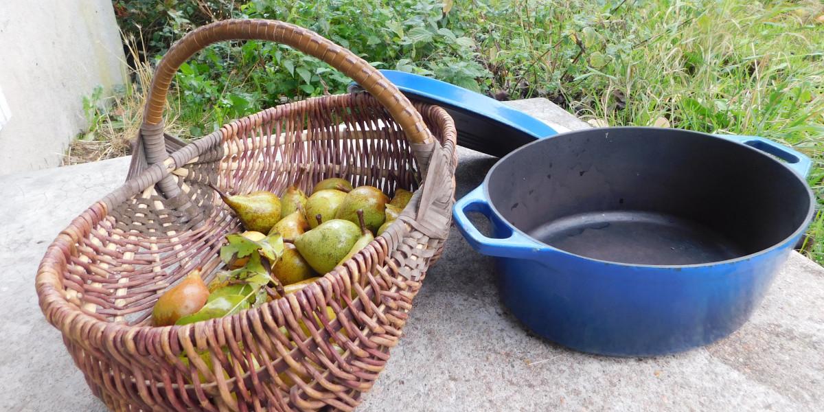 Les poires du jardin